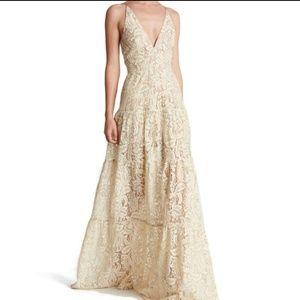 Dress The Population Melina Lace Maxi